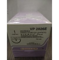 Ethicon Synthetic Absorbable Coated Vicryl Plus Antibacterial Sutures (VP2826E)