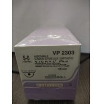 Ethicon Synthetic Absorbable Coated Vicryl Plus Antibacterial Sutures-VP2303