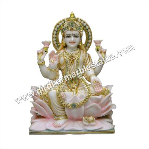 Marble Laxmi Maa Statue