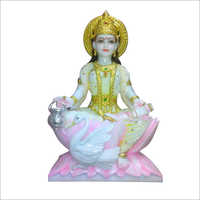 Marble Gayatri Statue