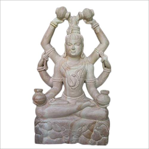 Mahamrityunjaya Marble Statue