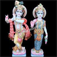 God Radha Krishna Statue