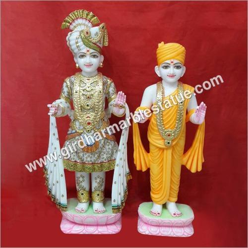 Bhagwan Swami Narayan Marble Statue