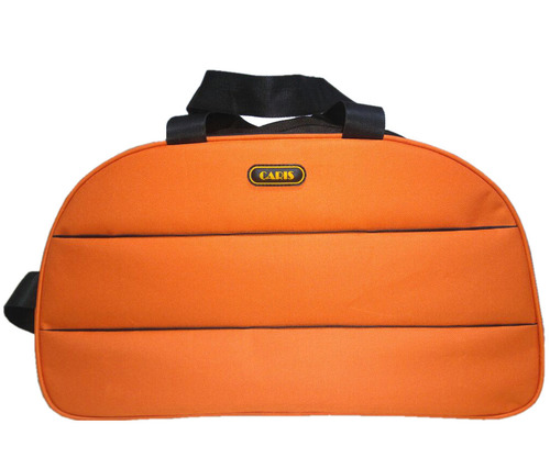 "Caris 18"" 20L Orange Plain Duffel Bag DB18003"