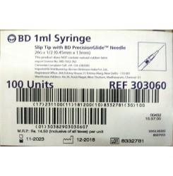 BD - 1ml Syringe (Slip Tip)
