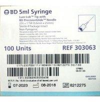 BD - 5ml Syringe (Luer-Lok Tip)