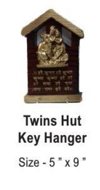 Twins Hut Key Hanger