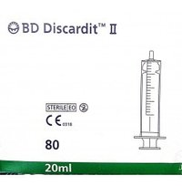 BD Discardit II 20ml without Needle