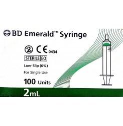 Bd Emerald BlIster 2Ml Syringes