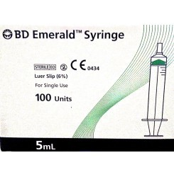 Bd Emerald BlIster 5Ml Syringes