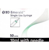 BD Emerald Single Use Syringe 10ML