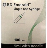 BD Emerald Single Use Syringe 5ML
