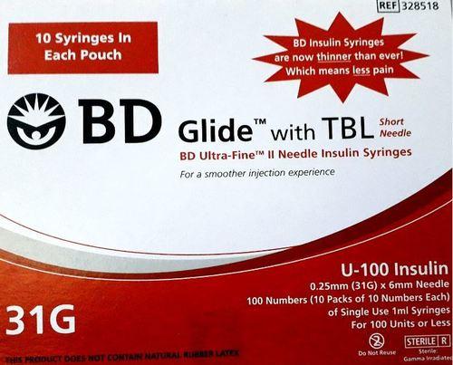 BD Glide With TBL 31G (U-100)