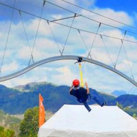 Zip Line Roller Coaster