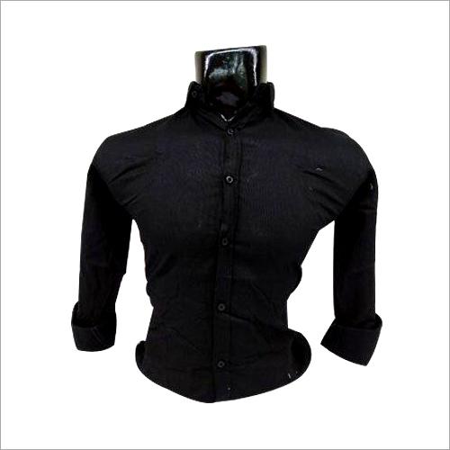 Mens Black Shirt