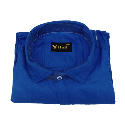 Mens Blue Half Sleeve Shirt