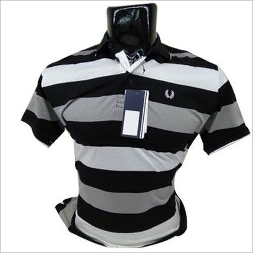 Mens Half Sleeve Cotton Polo T-Shirt