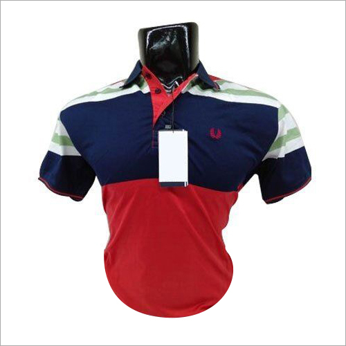 Mens Partywear Polo T-Shirt