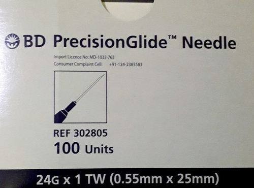 BD PrecisionGlide Needle (24G)