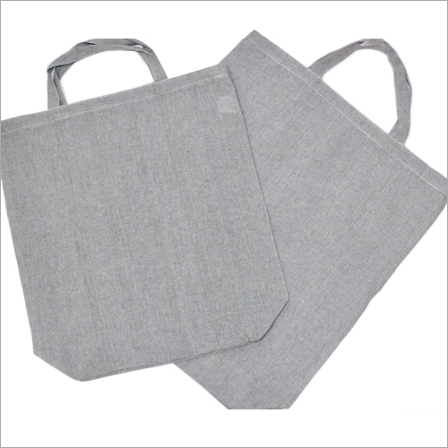 Grey Cotton Carry Bag
