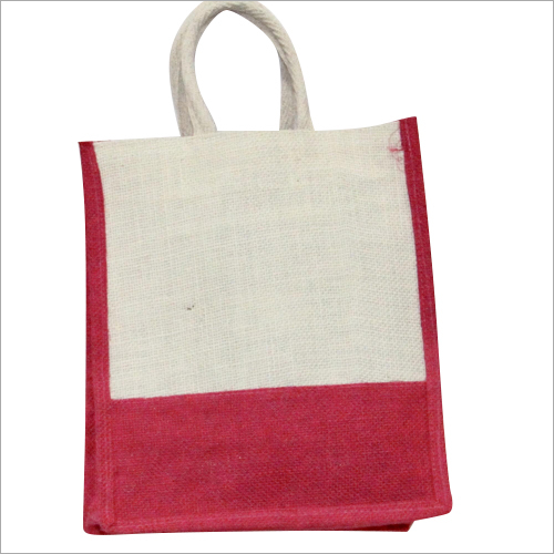 Coloured Jute Carry Bag