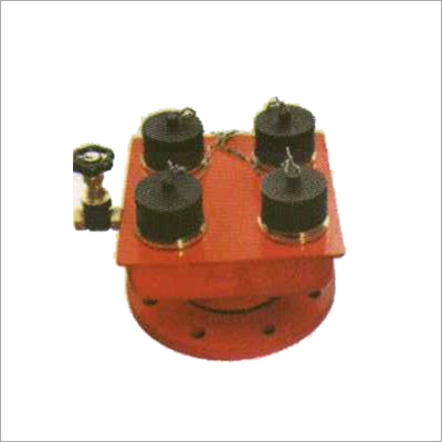 4 Way Inlet Breeching Valve