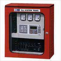 Microprocessor PA System Based Panel