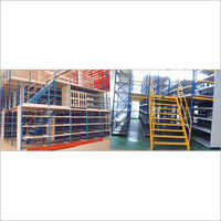 Multi Tier Storage And Mezzanine Floor System
