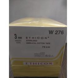 Ethicon Umbilical Sterile Cotton Tape (W276)