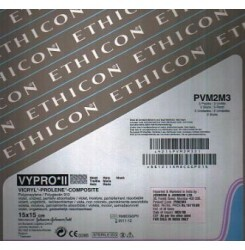 Ethicon Vypro Ii Macroporous Partially Absorbable Mesh (Pvm2M3)