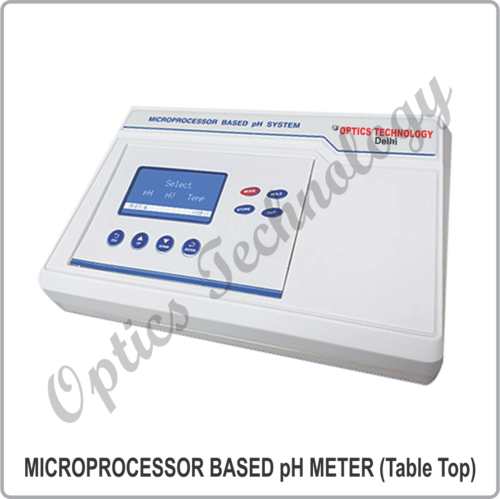 MICROPROCESSOR BASED pH METER (Table Top)