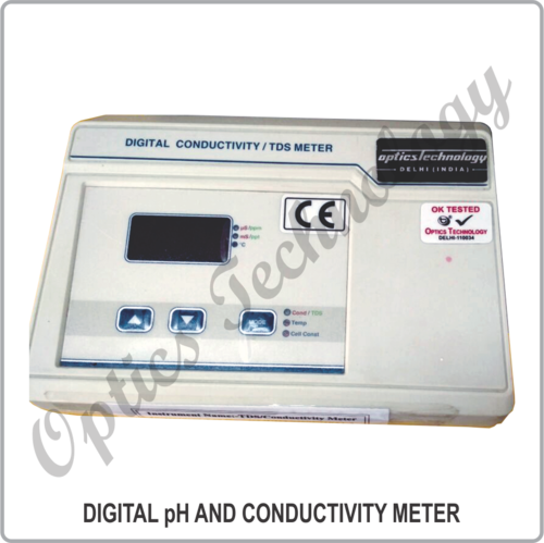 DIGITAL pH AND CONDUCTIVITY METER