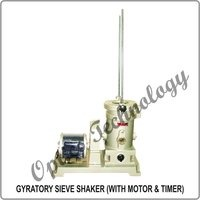 GYRATORY SIEVE SHAKER (WITH MOTOR & TIMER)
