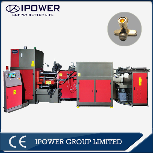 Horizontal Hot Forging Press Machine for Air Conditioning Stop Valve