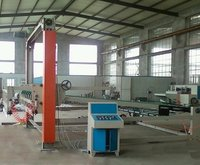 Electric Corrugated Cardboard Production Line With Gantry Stacker