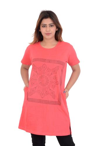 Long Pocket T shirt