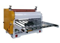 Multi Color Paper Sheet Cutter Machine , Paper Sheeting Boring Machine 2.2KW