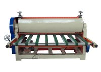 60 Times/Min Corrugated Cardboard Production Line Medium Sheet Cutter / Boring Machine