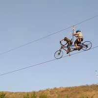 Tandem Zip bike