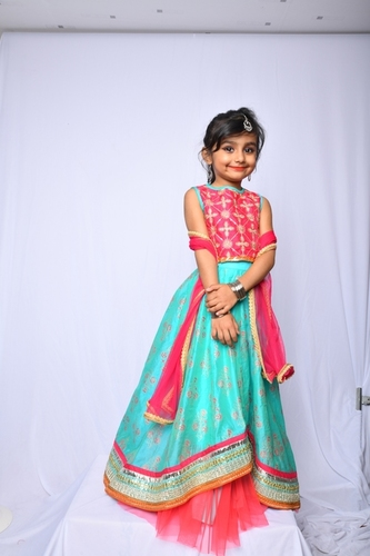Party Wear Kids Ghagra Choli