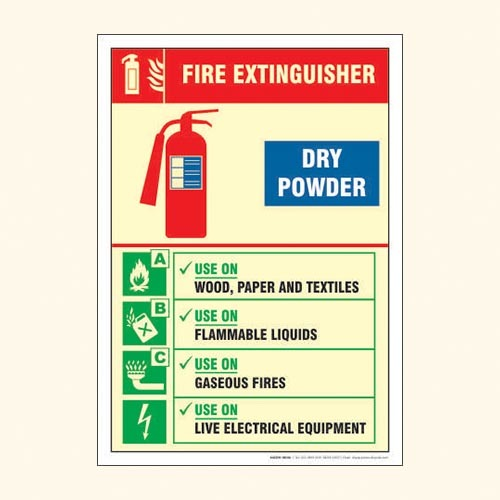 Fire Equipment Sign FS 12
