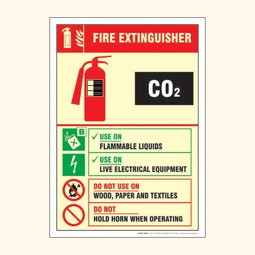 Fire Equipment Sign FS 13