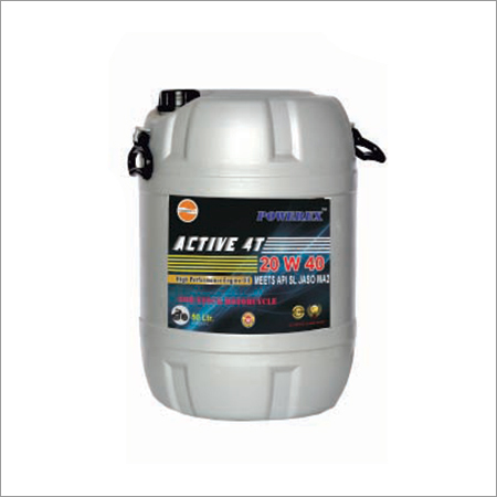 Powerex Active 4T 20W 40 Automotive Oil Drum