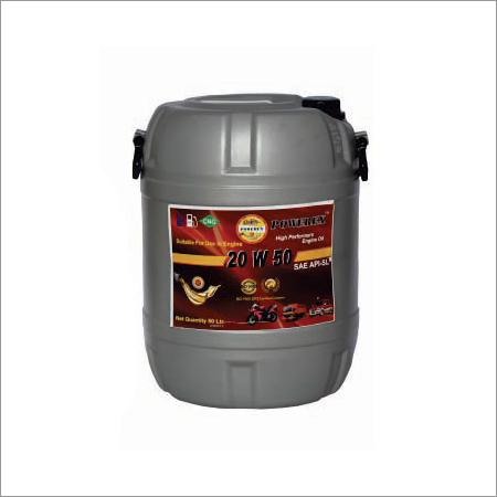 20W50 Automotive Oil Drum