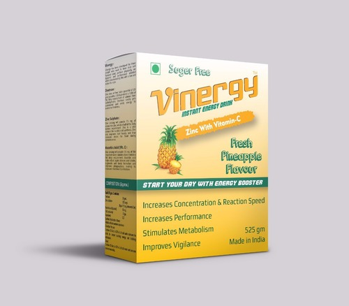 Vinergy Instant Energy Drink (Pineapple Flavor)