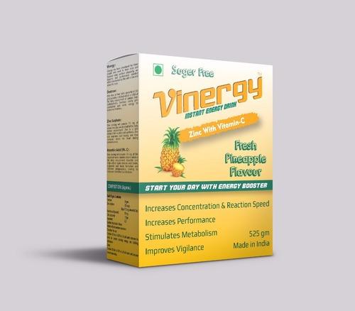 Vinergy Instant Energy Drink (Pineapple Flavor)