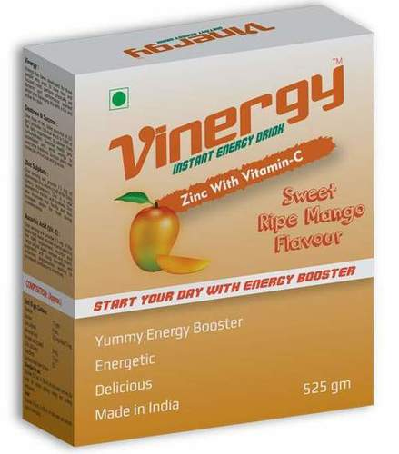 Vinergy Instant Energy Drink (Sweet Ripe Mango Flavor)