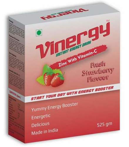 Vinergy Instant Energy Drink (Strawberry Flavor)