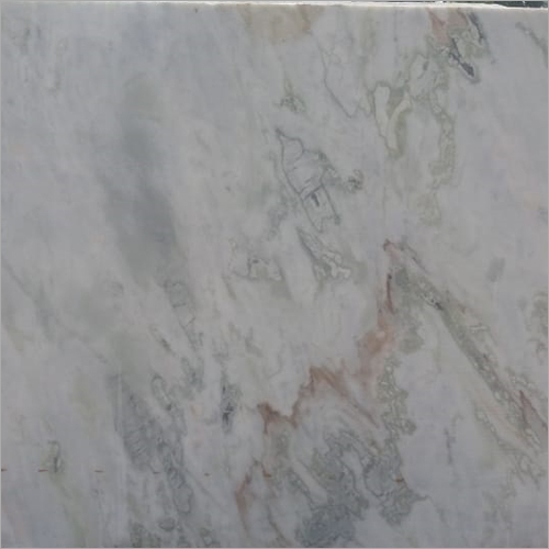 White Brown Marble Slab