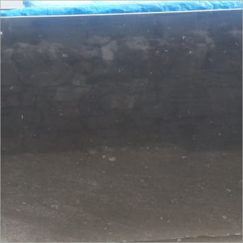 Plain Black Granite Slab